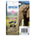 Epson Elephant Cartucho 24XL magenta claro (etiqueta RF)
