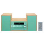 Pioneer X-CM56D Home audio micro system 30W Green