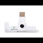 SCM SCR3500 SmartFold smart card reader RS-485 White