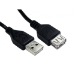 Cables Direct 99CDL2-020FD USB cable 0.25 m 2.0 USB A Black