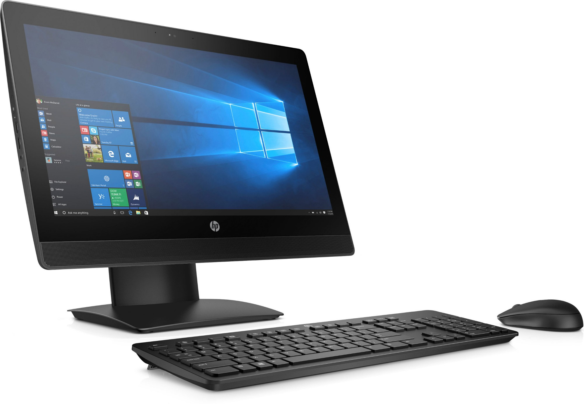 HP ProOne 400 G3 20-inch Touch All-in-One PC 2KL26EA#ABU