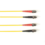 "Black Box FOCMRSM-007M-STST-YL fiber optic cable 275.6"" (7 m) 2x ST OFNR OS2 Yellow"