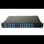 Add-On Computer Peripherals (ACP) ADD-CWDWMUX24E-LC rack console Black 1U