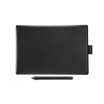 Wacom One by Medium graphic tablet Black, Red 2540 lpi 216 x 135 mm USB