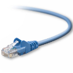 """Belkin RJ45 Cat5e Patch Cable, Snagless Molded, 7.6m networking cable Blue 299.2"""" (7.6 m)"""