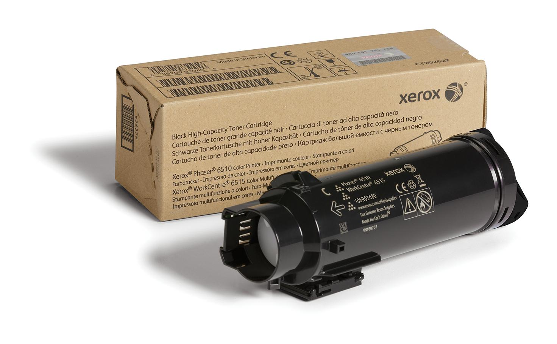 Xerox PHASER 6510 / WORKCENTRE 6515 Cartucho de tóner negro de alta capacidad (5500 páginas)