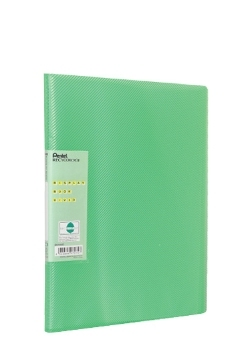 Pentel Display Book Vivid personal organizer Green