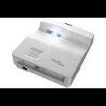 Optoma W330UST beamer/projector 3600 ANSI lumens DLP WXGA (1280x800) 3D Desktopprojector Wit