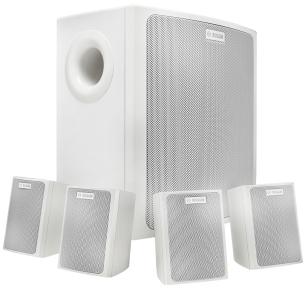 Bosch LB6-100S-L 30W White speaker set