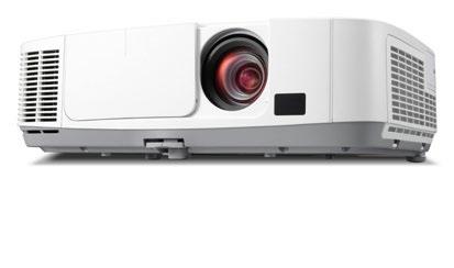 NEC PE455UL data projector 4500 ANSI lumens 3LCD WUXGA (1920x1200) Desktop projector White