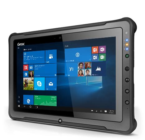 Getac F110 G4 128GB 3G 4G Black tablet