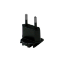 Zebra CN-000803-05 power plug adapter Type C (Europlug) Black