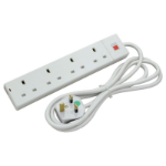 Lindy 70145 4AC outlet(s) 250V 2m White surge protector