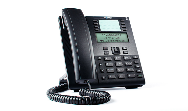 Mitel 80C00001AAA-A IP phone Black Wired handset LCD 9 lines