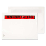 Blake Purely Packaging Printed Document Enclosed Wallet A7 123x111mm (Pack 1000) envelope