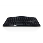 Accuratus Curve keyboard RF Wireless + USB QWERTY UK International Black