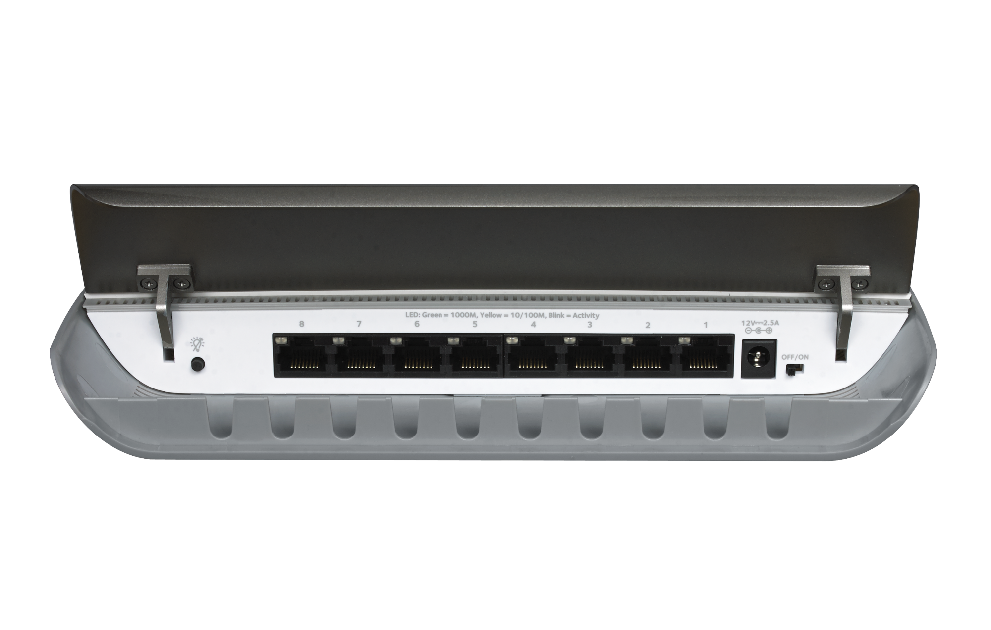 NETGEAR 8-port Gigabit Unmanaged Switch with Cable Management