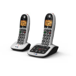 British Telecom BT4600 Advanced Nuisance Call Blocker - Twin Caller ID Black, White