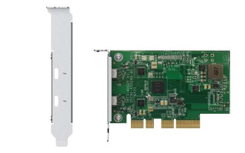 QNAP QXP-T32P interface cards/adapter Internal Thunderbolt 3
