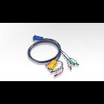 Aten PS/2 KVM Cable Black 5m