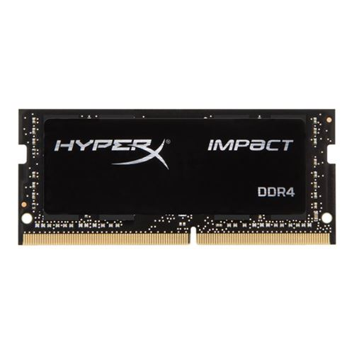 Kingston HyperX Impact - DDR4 - 16 GB - SO-DIMM 260-pin - 2400 MHz / PC4-19200 - CL14 - 1.2 V - unbuffered -