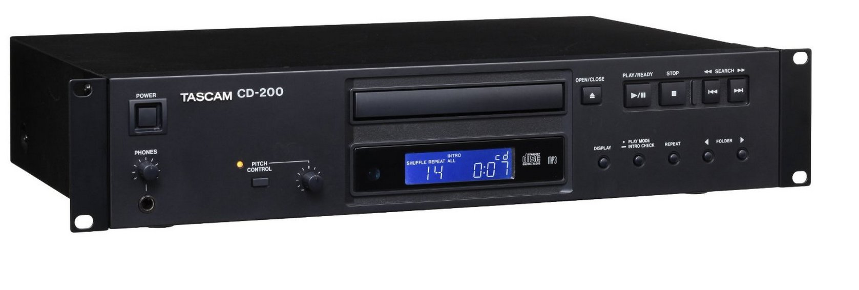 Tascam CD-200 CD player Personal CD player Black