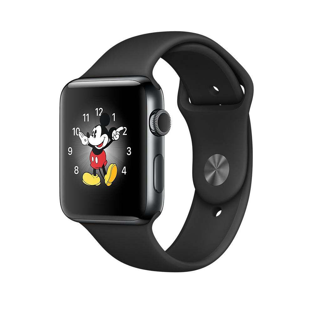 Apple Watch Series 2 OLED GPS (satellite) Black smartwatch