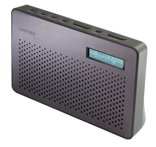Goodmans GMR1886DAB radio Portable Digital Purple