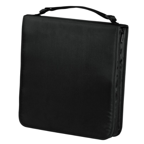 Hama CD Wallet Nylon 160, black 160discs Black