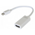 Hypertec 127379-HY video cable adapter 0.13 m Mini DisplayPort HDMI White