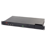 APC KVM 2G KVM switch Rack mounting Black