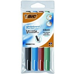 BIC Velleda marker 4 pc(s) Black,Blue,Green,Red