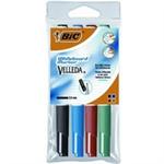 BIC Velleda marker 4 pc(s) Black,Blue,Green,Red