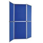 Bi-Office 6 Panel Display Kit Blue
