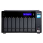 QNAP TVS-872X-I3-8G NAS/storage server Tower Ethernet LAN Black i3-8100T