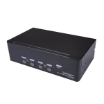StarTech.com 4-Port Dual DisplayPort KVM Switch - 4K 60Hz