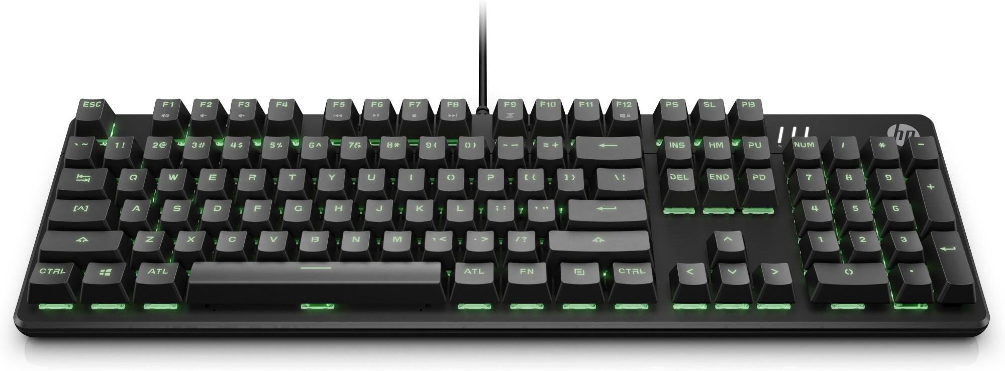HP Pavilion Gaming 500 keyboard USB Black
