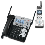 AT&T SB67138 Analog/DECT Black,Silver Telephone