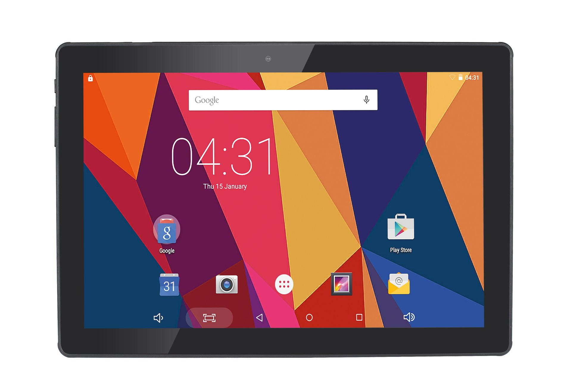 Hannspree HANNSpad 101 Hercules 16GB Black tablet