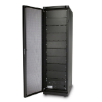 APC SYCF8BFS rack cabinet Black