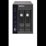 QNAP VS-2212 Pro+ Netwerk Video Recorder (NVR) Zwart