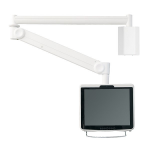 "Newstar Medical Monitor Wall Mount (Full Motion gas spring) for 10""-24"" Screen - Grey"