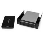 "StarTech.com Removable 2.5"" SATA HDD Enclosure/Backup System/Mobile Rack for 3.5/5.25"" Bay"
