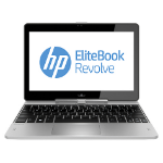 "HP EliteBook Revolve 810 G2 2.1GHz i7-4600U 11.6"" 1366 x 768pixels Touchscreen 4G Silver"