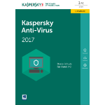 Kaspersky Lab Anti-Virus 2017 1user(s) 1year(s) German