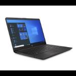 "HP 255 G8 Notebook 39,6 cm (15.6"") Full HD AMD Ryzen 3 8 GB DDR4-SDRAM 128 GB SSD Wi-Fi 6 (802.11ax) Windows 10 Home Zwart, Zilver"