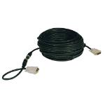 """Tripp Lite P561-050-EZ DVI cable 600"""" (15.2 m) DVI-D Black"""