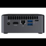 Intel NUC 8 Home Intel® 8ste generatie Core™ i3 i3-8109U 4 GB DDR4-SDRAM 1000 GB HDD Zwart Mini PC