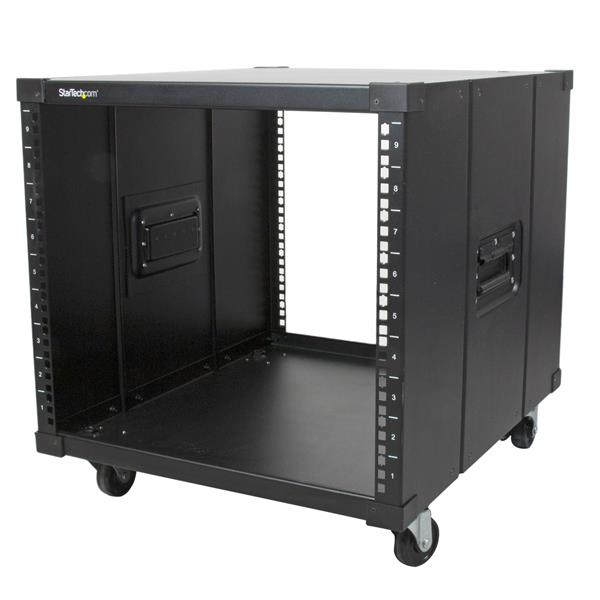 StarTech.com Portable Server Rack with Handles - 9U