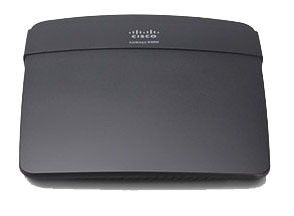 Linksys E900 draadloze router Fast Ethernet